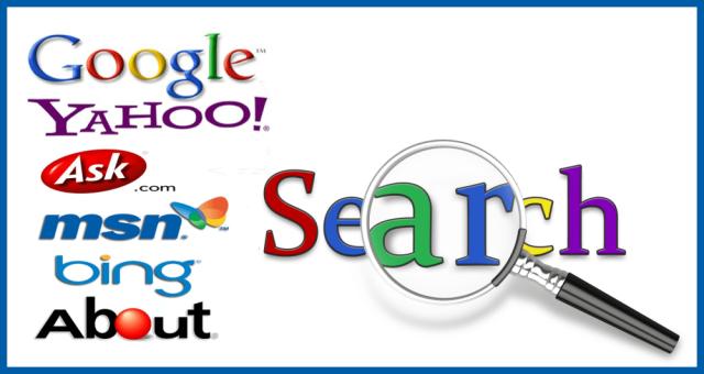 أنواع محركات البحث